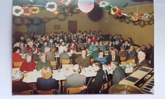 Christmas Party in the hall